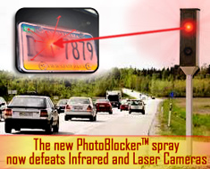 Photoblocker spray now defeats Infrared and laser Cameras