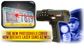 PhotoShield Cover defeats laser guns